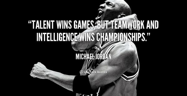 Meeskonnatöö - Michael Jordan