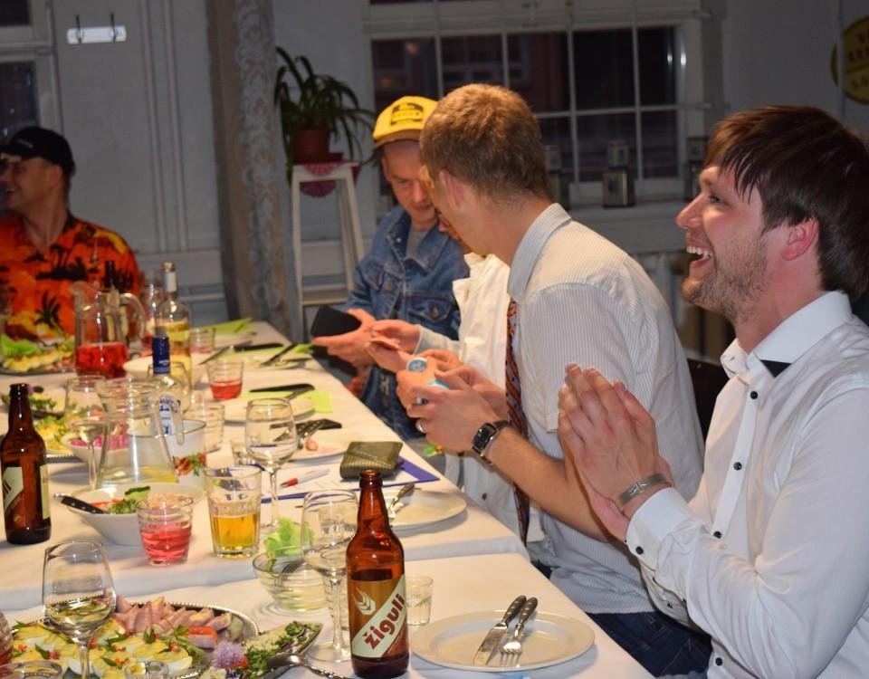Sünnipäevapidu Sööklas koos meeskonnamängu ja diskoga