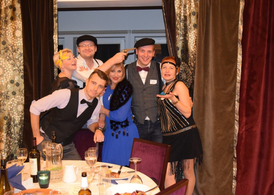 Corporate Events with Murder Mystery